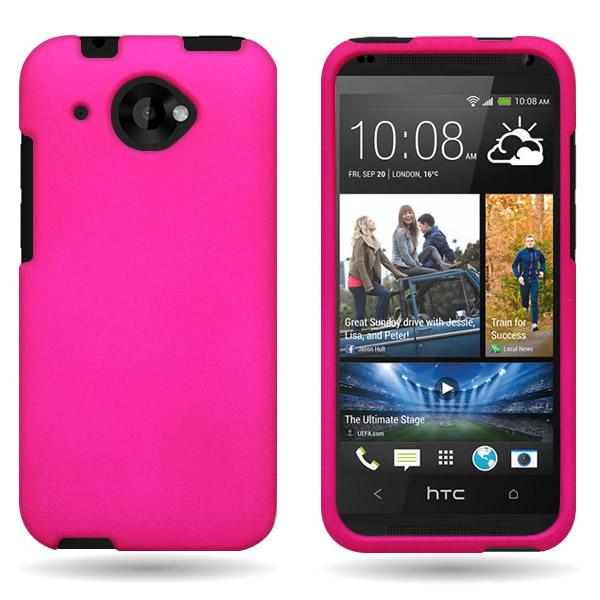 For HTC Desire 601 Hard Rubberized Plastic Matte Phone ...