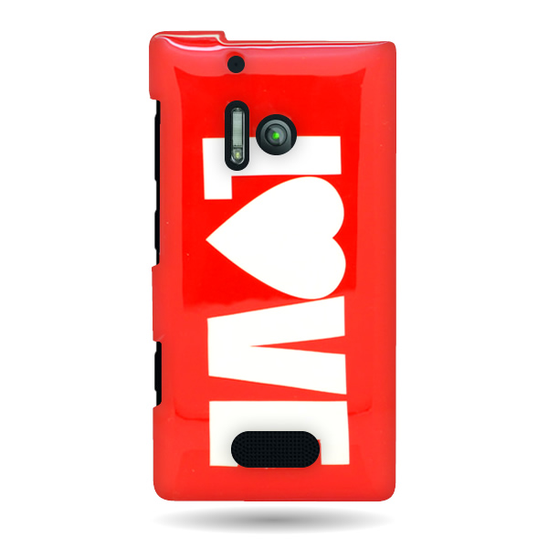 For Nokia Lumia 928 - Stylish Hard Plastic Shell Cover Design Case ...