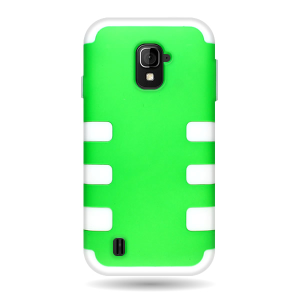 For zte source n9511 majesty skin hard layer hybrid case for Consul use cases