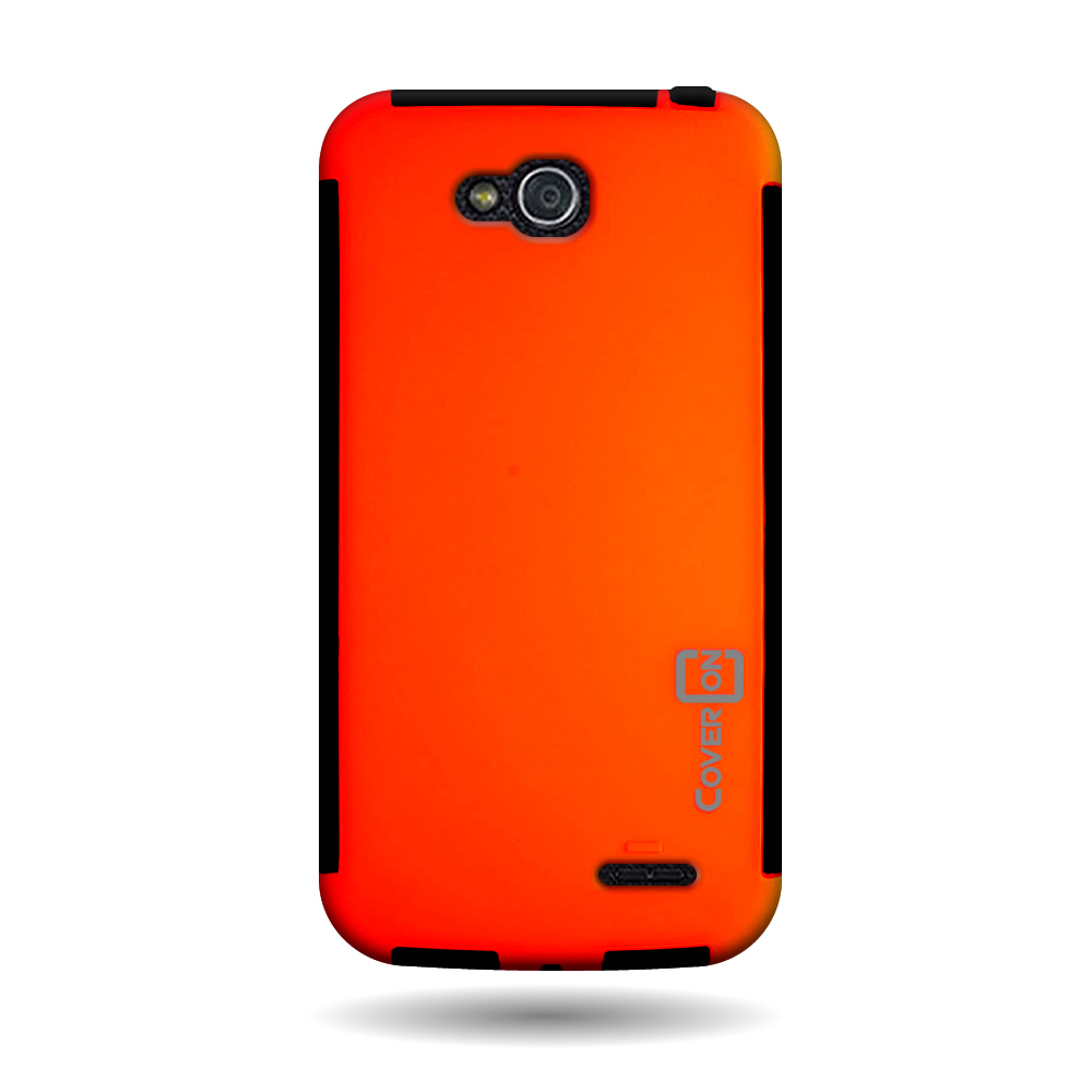 For LG Optimus L90 - Tough TPU Hybrid Phone Case w/Screen Protector ...