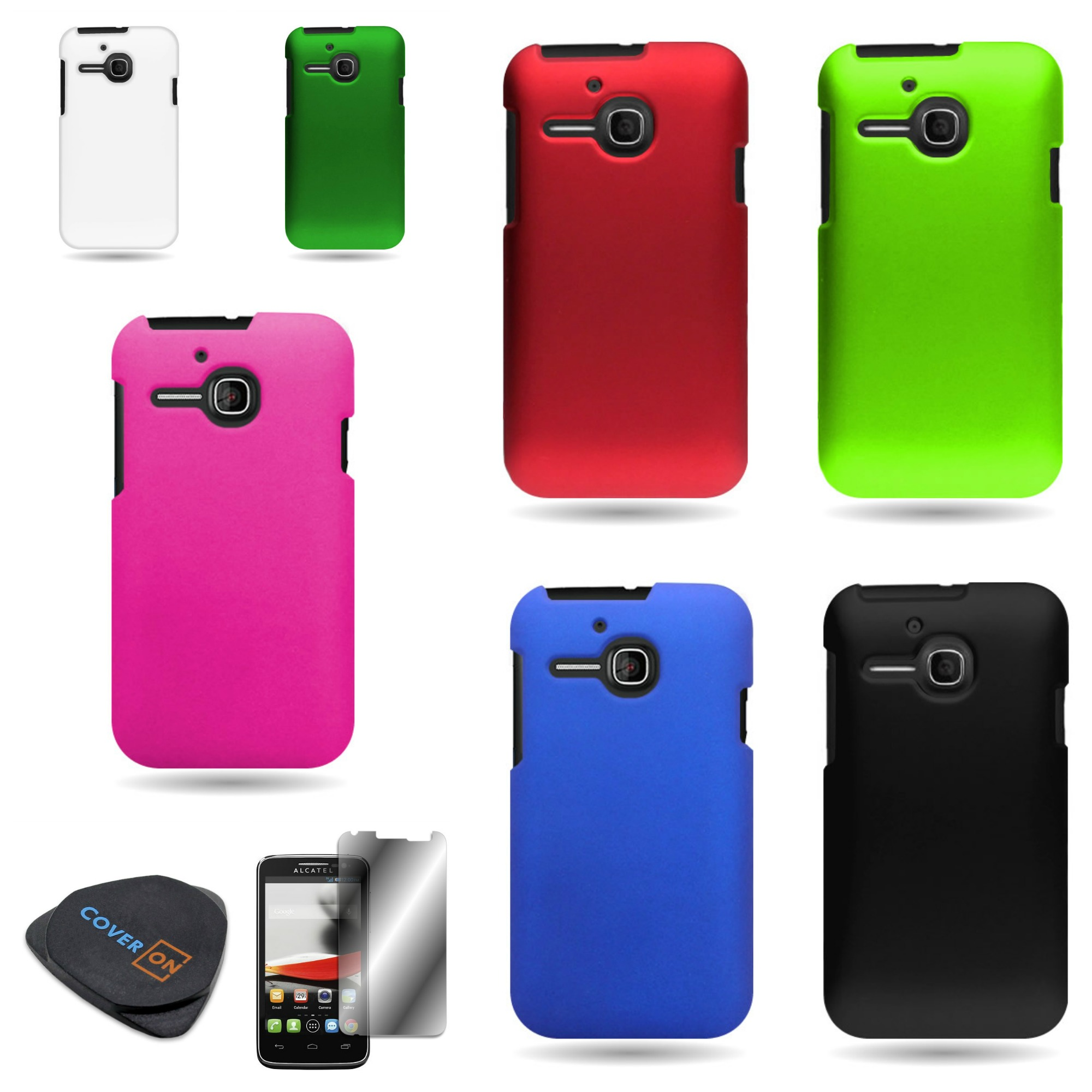 Various cases for alcatel one touch evolve t hard skin