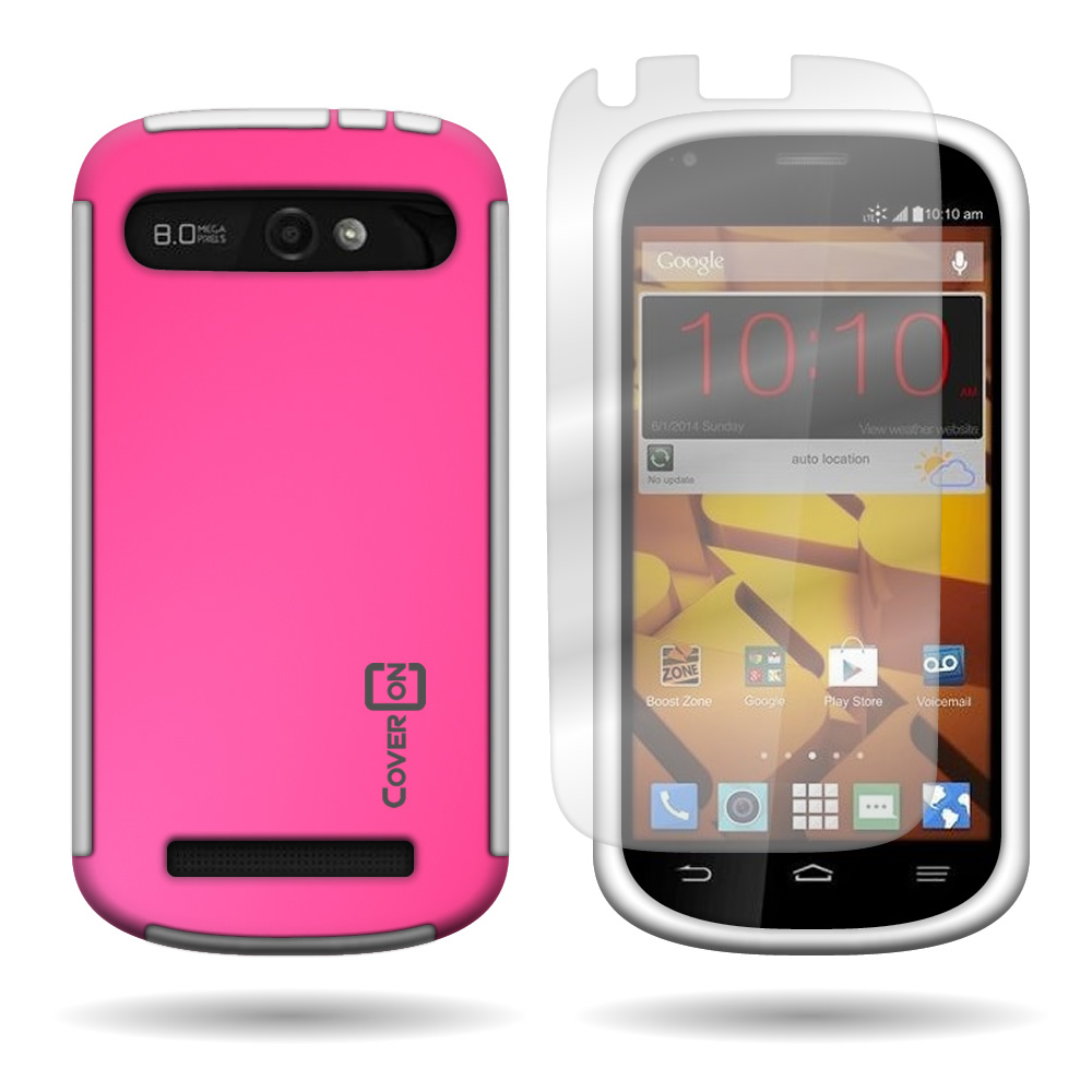 the zte warp hard case bine