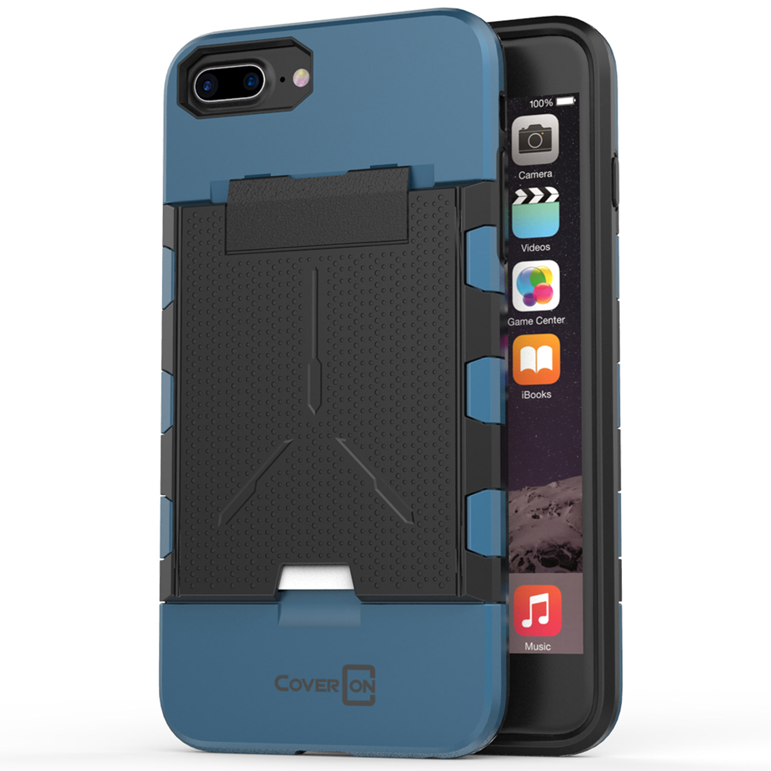 ... -Layer-Kickstand-Hybrid-Phone-Cover-Case-for-LG-Optimus-Dynamic-II-2