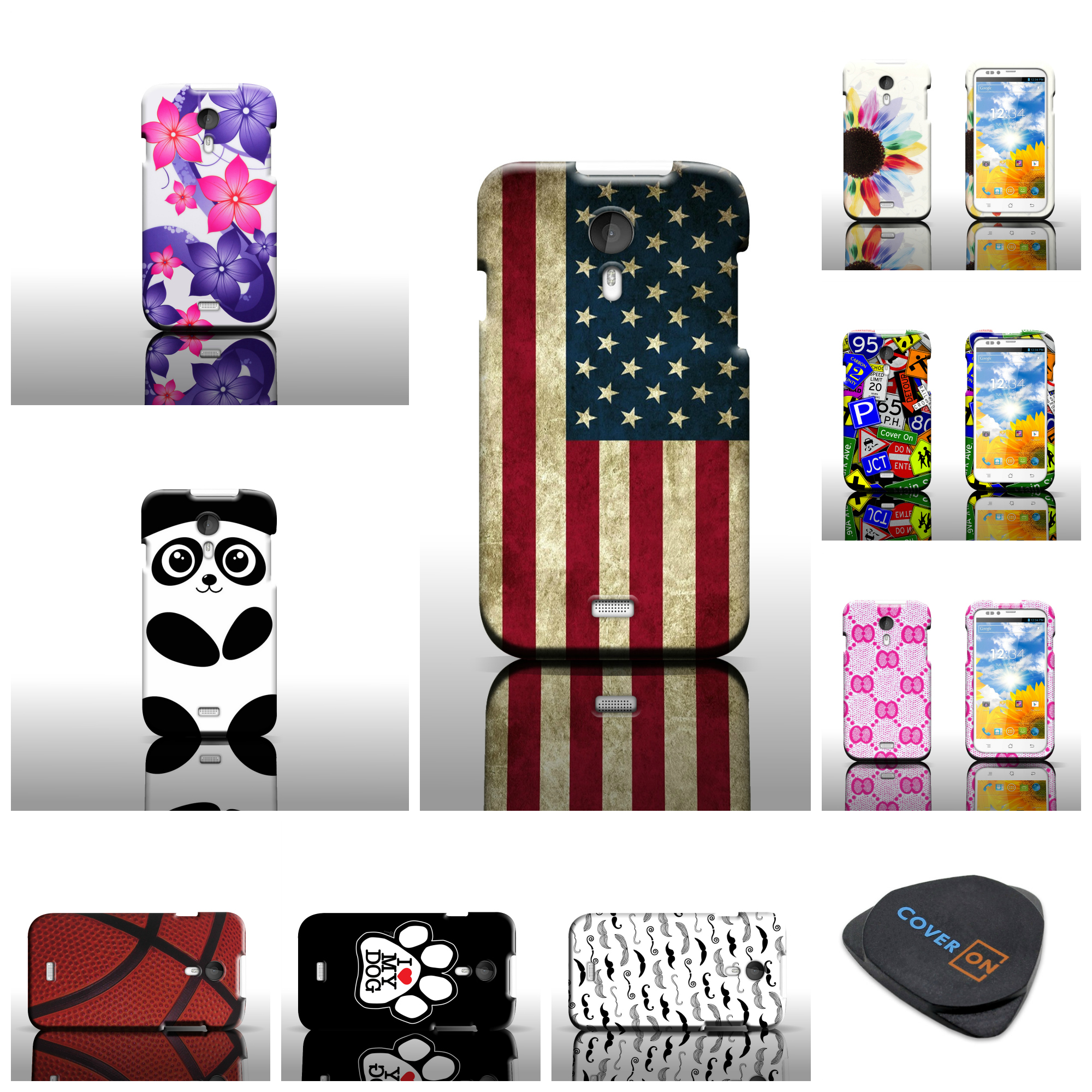 Aliexpress Flip Pu Leather Case Cover For Bush Spira C1 5 0 Android Cell Phone Shipping From Reliable Round Suppliers On Online
