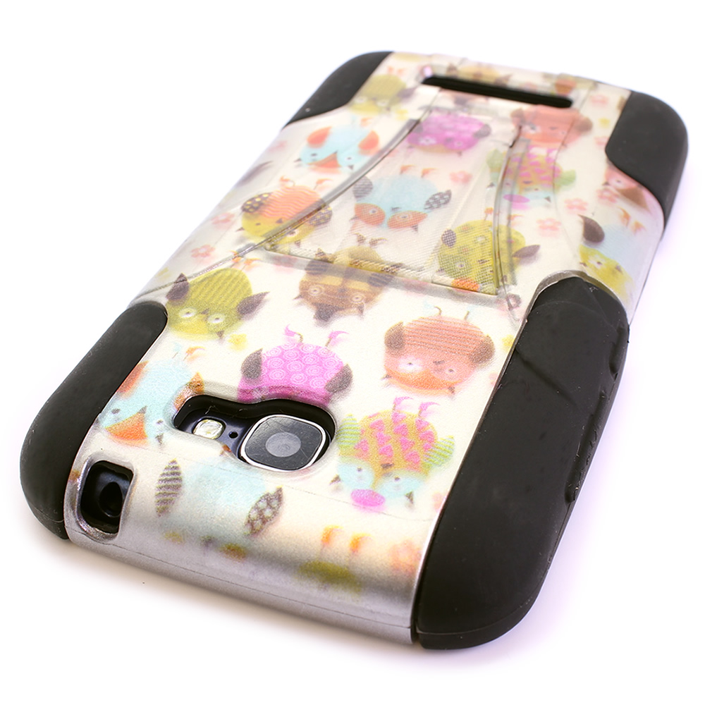 Hybrid cover phone case with stand for alcatel one touch