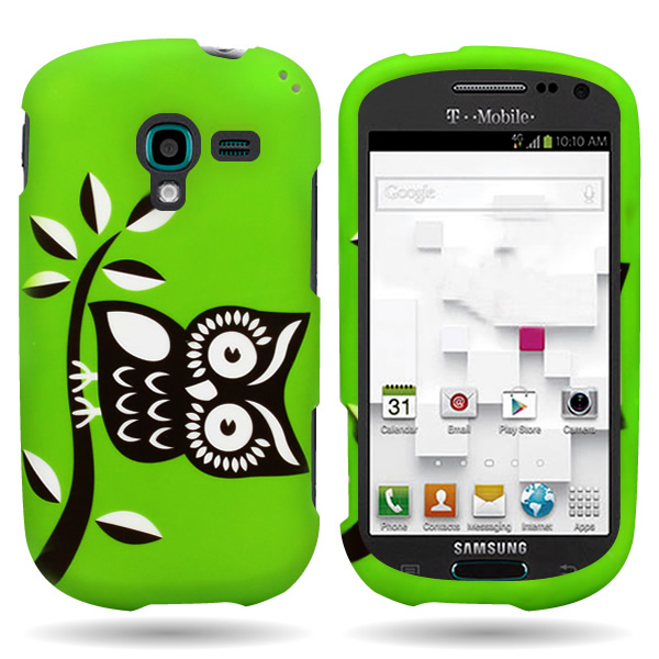 For Samsung Galaxy Exhibit Case - Slim Protective Hard Snap-On Phone ...