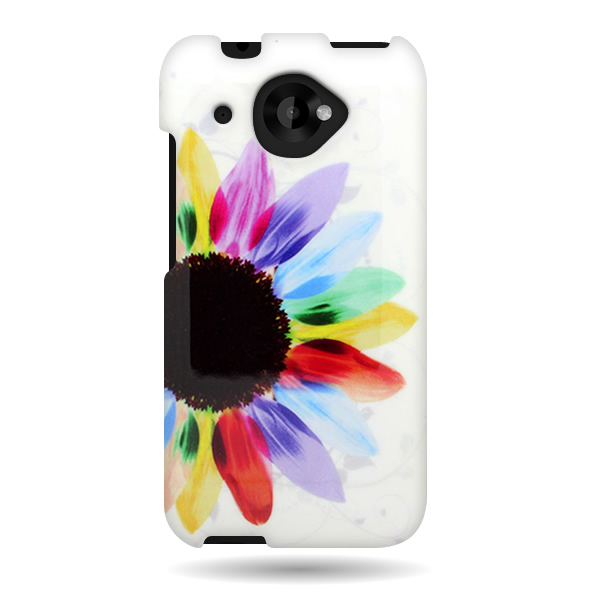 Details about For HTC Desire 601 Strong Rubber Plastic Design Cover ...