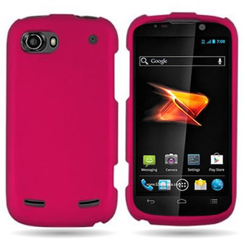 For-ZTE-Warp-2-N861-Sequent-Premium-Colorful-Hard-Rubberized-Cover ...